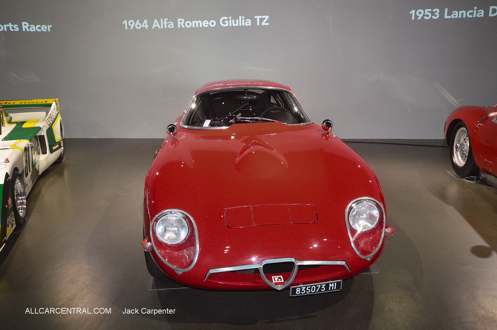 Alfa Romeo Giulia TZ 1964  Petersen Automotive Museum  2016