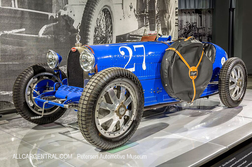 Bugatti Type 35C Grand Prix 1925 Petersen Automotive Museum