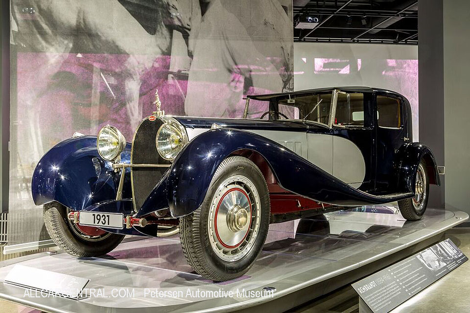 Bugatti Type 41 Royale 1932 Petersen Automotive Museum