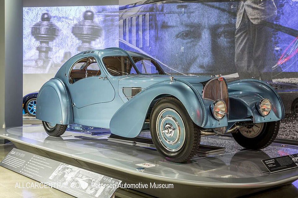 Bugatti Type 57SC Atlantic 2 1935 Petersen Automotive Museum