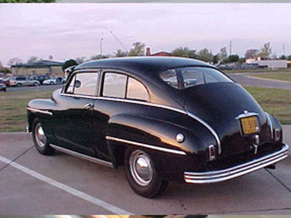 Plymouth 2-dr fastback 1949