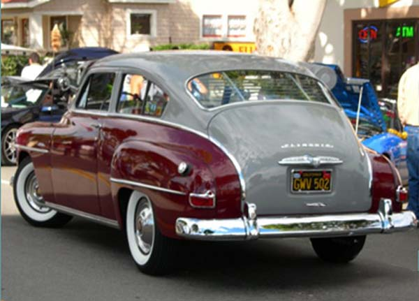 Plymouth 2-dr fastback 1951