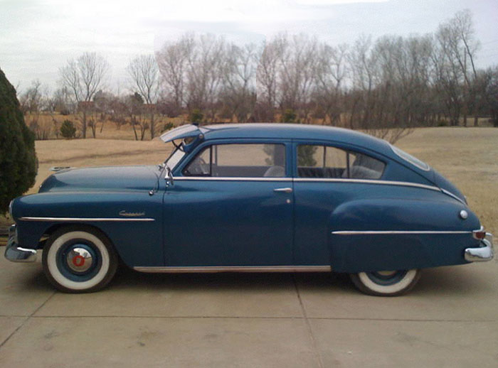 Plymouth 2-dr Fastback 1952