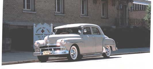 Plymouth 4-Door Sedan 1950