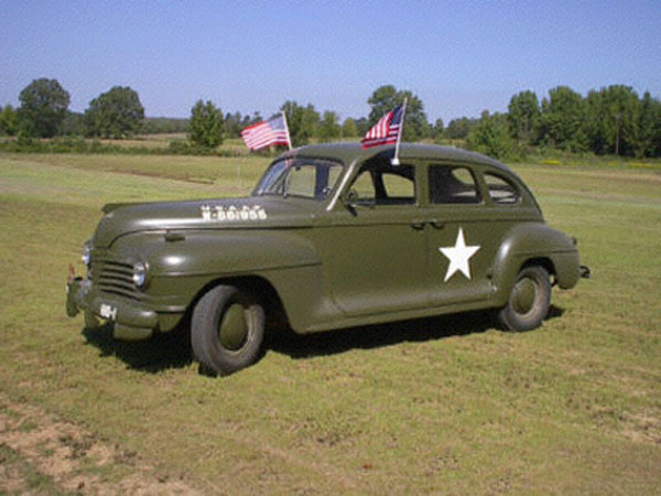 Plymouth Army Staff Car 1942
