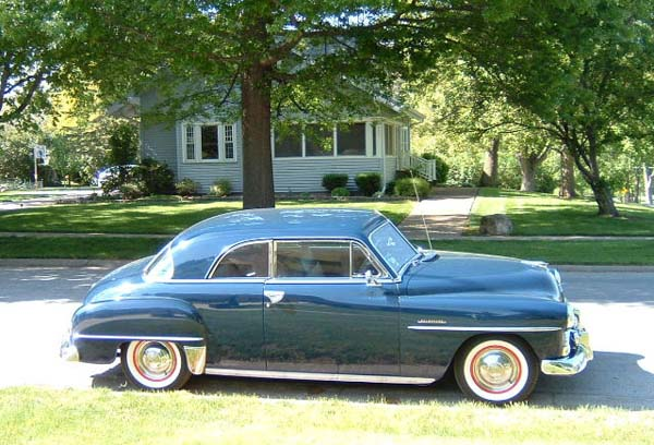 Plymouth photographs and plymouth technical data all car for 1951 plymouth 2 door