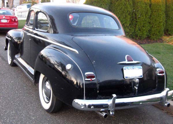Plymouth Club Coupe 1946