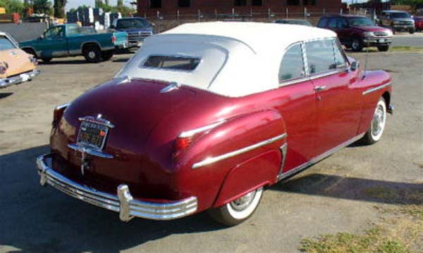 Plymouth Convertible 1949