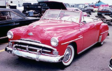 Plymouth Cranbrook Convertible 1951