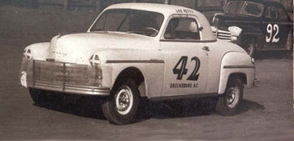 Plymouth Lee Petty NASCAR 1949