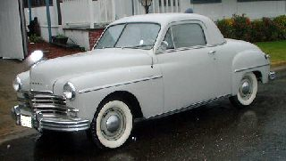 Plymouth P18 Deluxe Business Coupe 1949