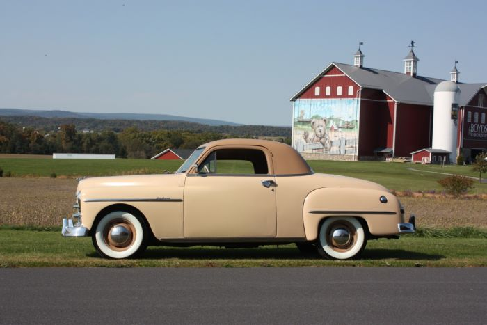 1950 Plymouth P19 Business Coupe