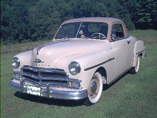 Plymouth P19 Business Coupe 1950