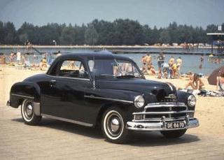 Plymouth P19 Deluxe business coupe 1950