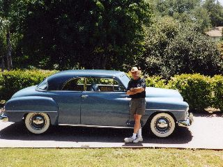 Plymouth P23 Belvedere hard top 1951
