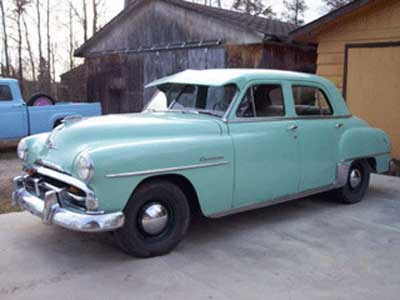 Plymouth P23 Cranbrook 4-Door Sedan 1952