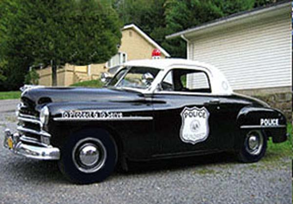 Plymouth  Police Car 1950
