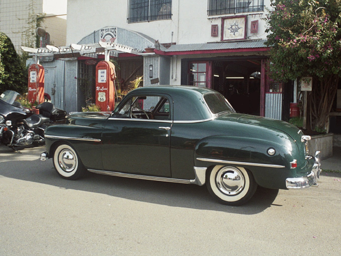 Plymouth business coupe 1950