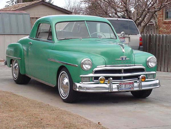 Plymouth  Coupe 1950