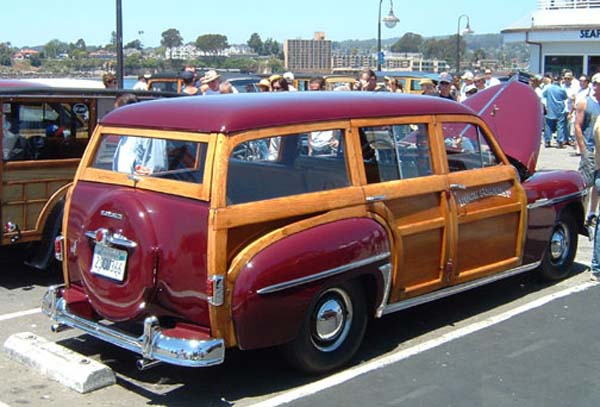 Plymouth  woodie wagon 1950