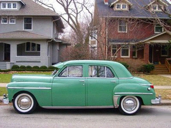 Plymputh 4-door 1949