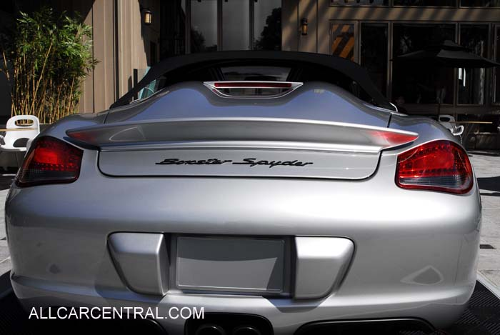 Porsche Boxster Spyder 2011. Porsche Boxster Spyder 2011