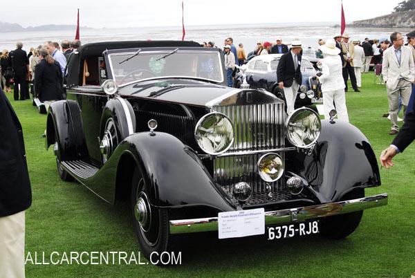 rolls royce phantom 1935. rollsroyce phantom iii continental binder cabriolet 1935 rolls royce h