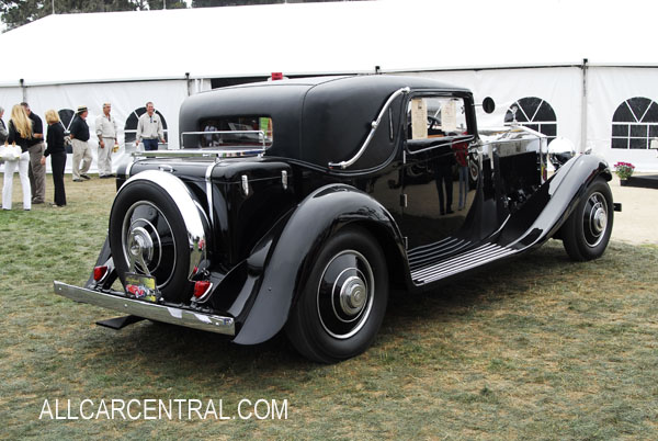 Rolls-Royce Phantom II Continental Gurne-Nutting sn-94MY 1933