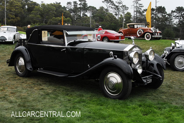 Rolls-Royce Phantom II Park Ward sn-195GY, Body-3501, Engine QT55, 1931