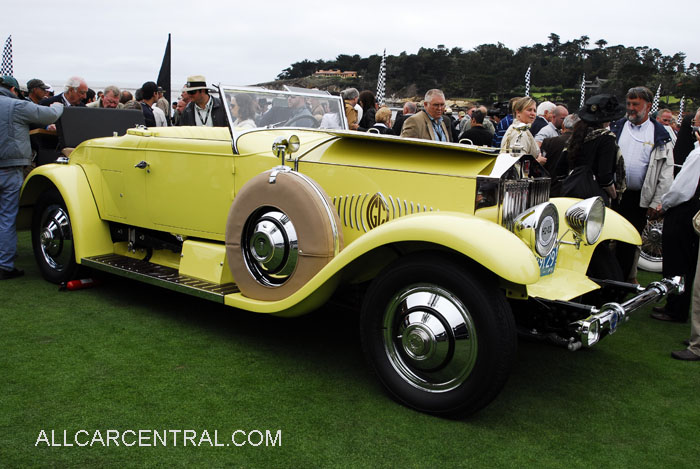 Rolls-Royce Phantom I Murphy Convertible Coupe 1929 1st