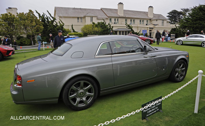 Rolls-Royce Phantom Series II Coupe Aviator Collection Car 2013 Pebble Beach Concours d'Elegance 2012