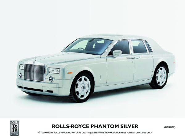 Rolls Royce Phantom. Rolls-Royce Phantom Silver