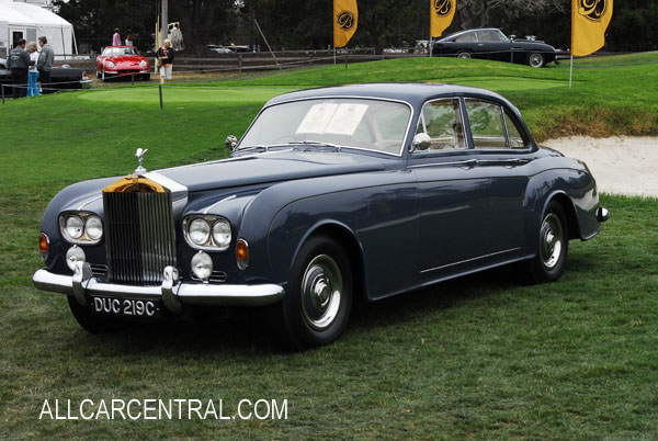 Rolls-Royce Silver Cloud III Continental James Young sn-SJR589C 1965