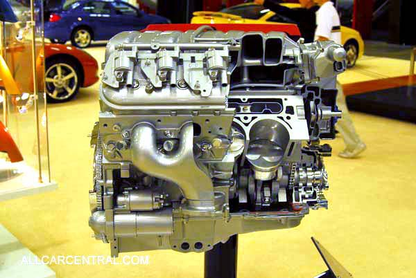 Corvette engine 2008