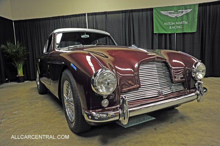 Aston Martin DB2-4 MK II FHC 1957 San Francisco Chronicle