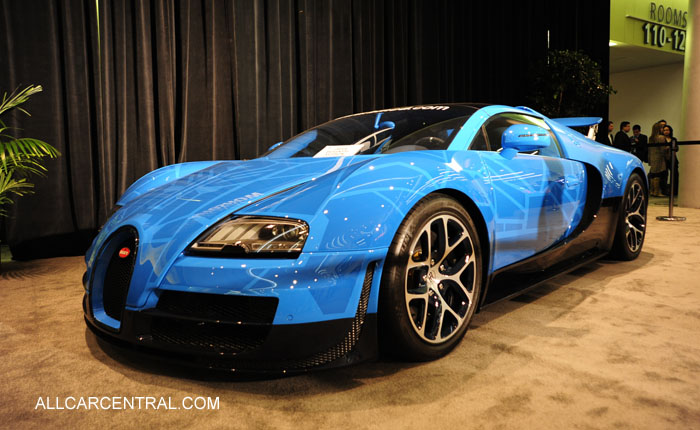 Bugatti Veyron 2014 San Francisco Chronicle
