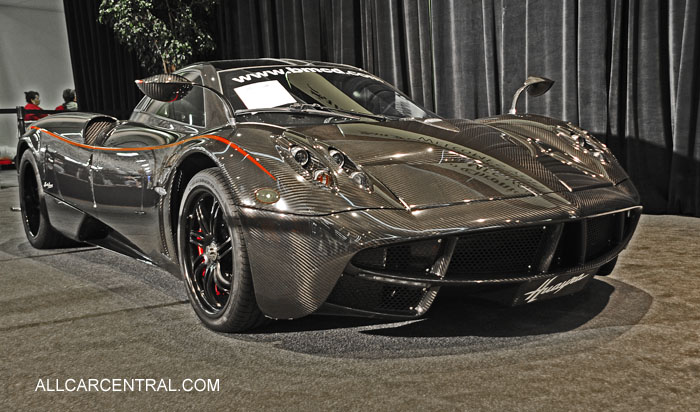 Pagani Huayra 2016 San Francisco Chronicle