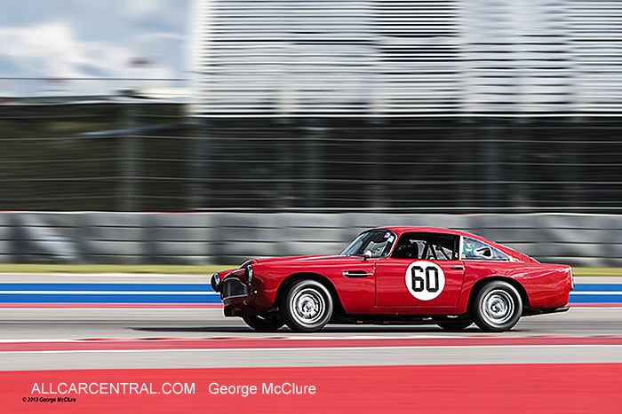 Aston Martin DB4 1959 Patrick Bean  United States Vintage Racing National Championship  2013