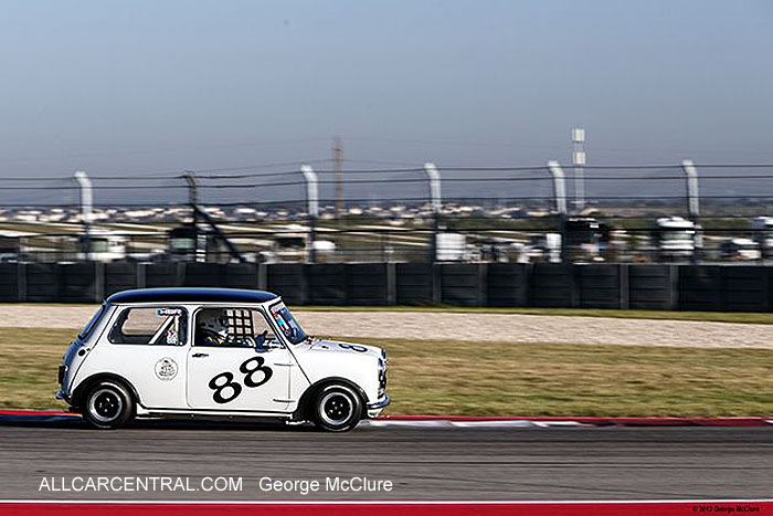 Austin Mini Cooper S 1965 Greg Wold United States Vintage Racing National Championship  2013