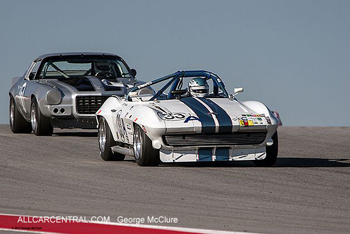 Chevrolet Corvette 1963 Mike Donohue United States Vintage Racing National Championship  2013