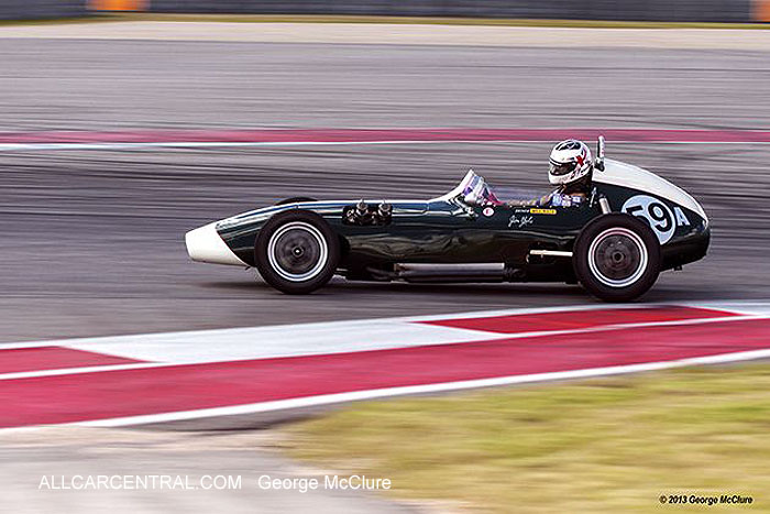 Elva 100 FJ 1959 Bill Haga United States Vintage Racing National Championship  2013