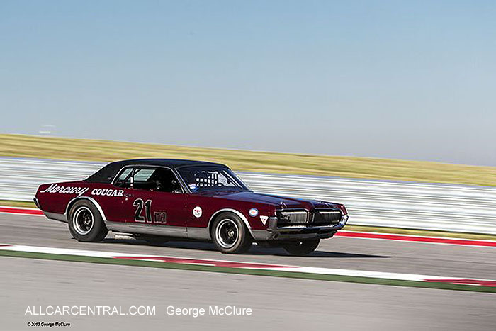 Mercury Cougar TA 1968 Marty Beaulieu United States Vintage Racing National Championship  2013