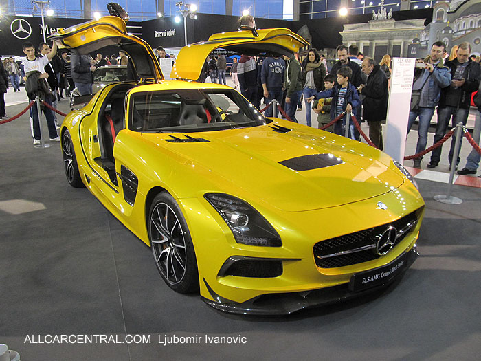 Mercedes-Benz SLS AMG Black Series 2014 Sajam automobila 2013