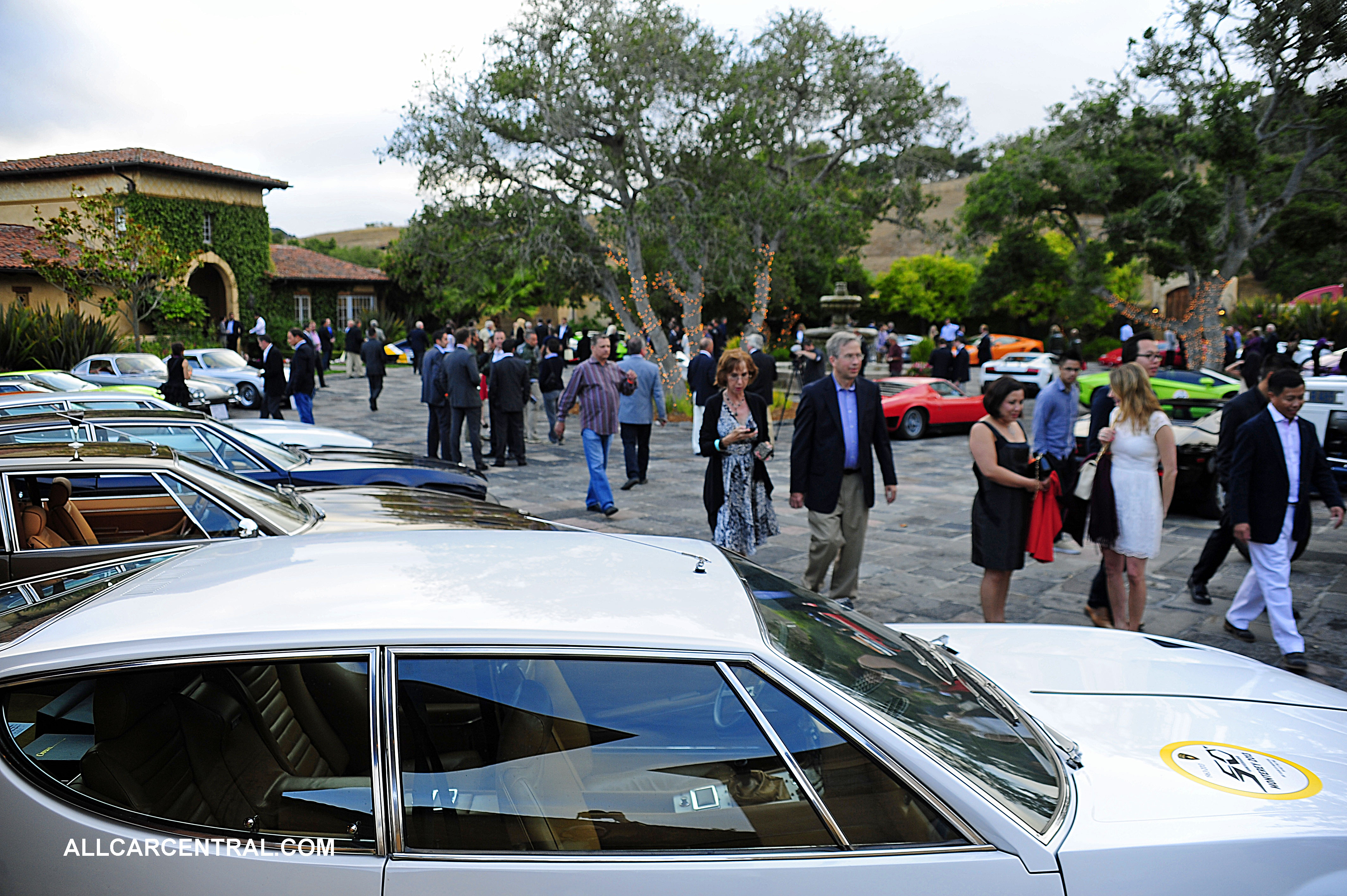 The Lamborghini Club gathering, Serata Italiana