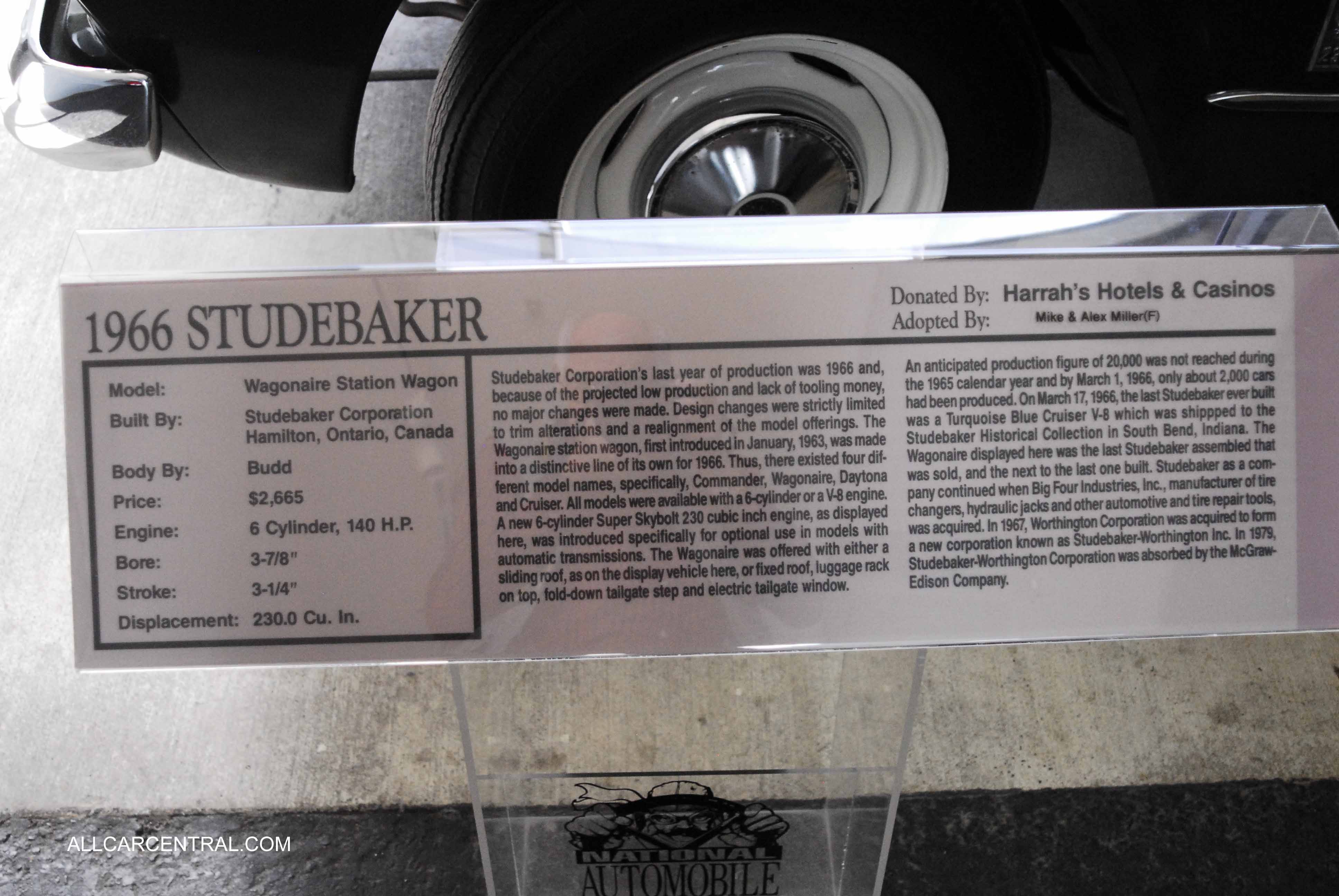 Studebaker photographs and
