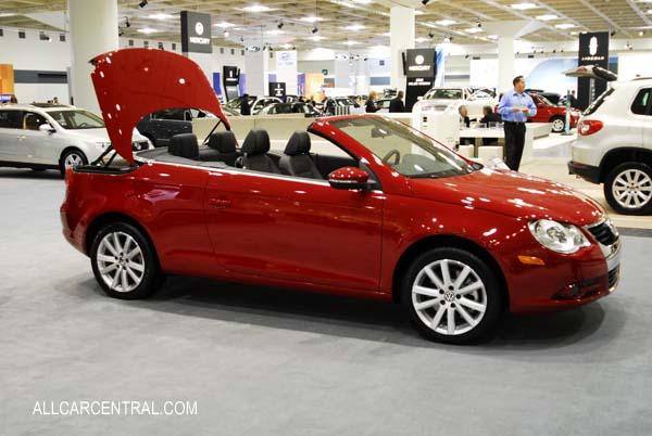 Volkswagen Eos 2009. Volkswagen Eos Komfort 2009