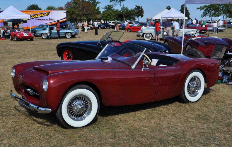 Woodhill Wildfire-FI Corvette 1954