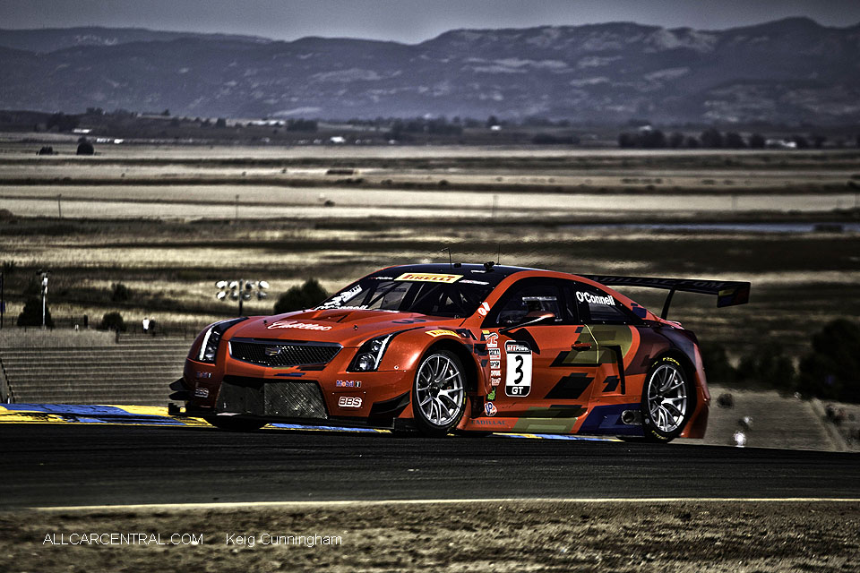 Cadillac ATS-VR GT3 Johnny O'Connell  Pirelli World Challenge Sonoma Raceway 2016