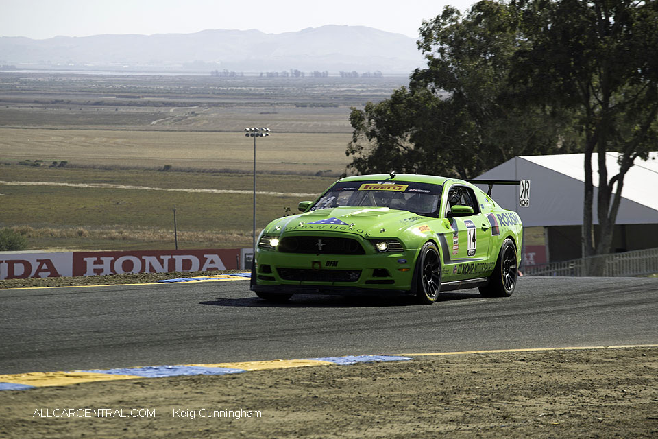 Ford Boss 302 Nate Stacy  Pirelli World Challenge Sonoma Raceway 2016