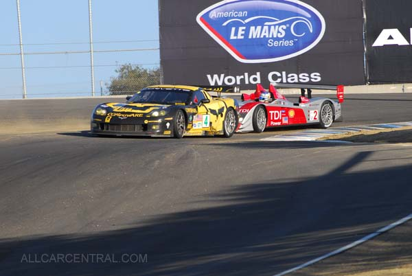 GT-1, 1st and 11th Overall Corvette C6R  Season Finale, American Le Mans Series 2007